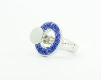 Flexring Sandy Ring blau