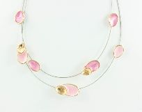 Collier Catrice pinkgold